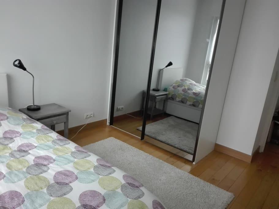 Chambre 10 m vue sur paris appartements louer for Chambre a louer sur paris