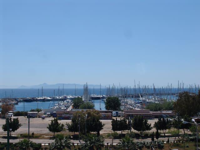 Athens Riviera sea view Penthouse 5' walk to beach