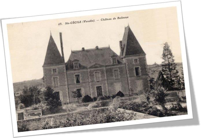 Château de Belle-Vue 85110 Sainte Cécile en 1890
