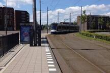 Tramstop ijburg