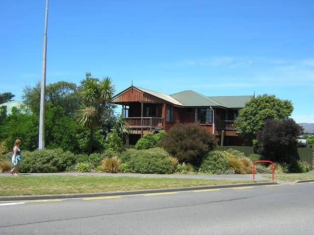 Woodside Manor in new brighton - Christchurch - Casa
