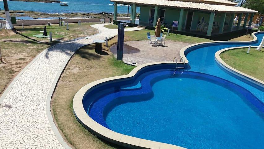 Casa dos Sonhos à Beira-Mar com wi-fi em Arembepe