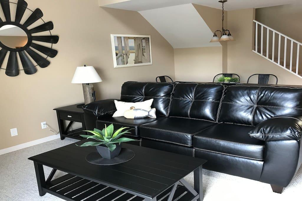 Nice Leather furniture