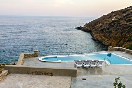 Ios 4 bedroom  beach villa with pool - Ios - Villa
