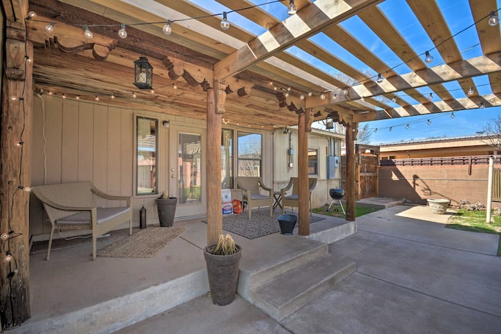 Pet-Friendly Clovis Home w/Yard, Pergola & Hot Tub