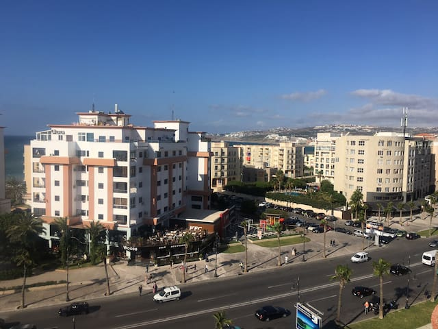 Appartement vue sur mer Malabata