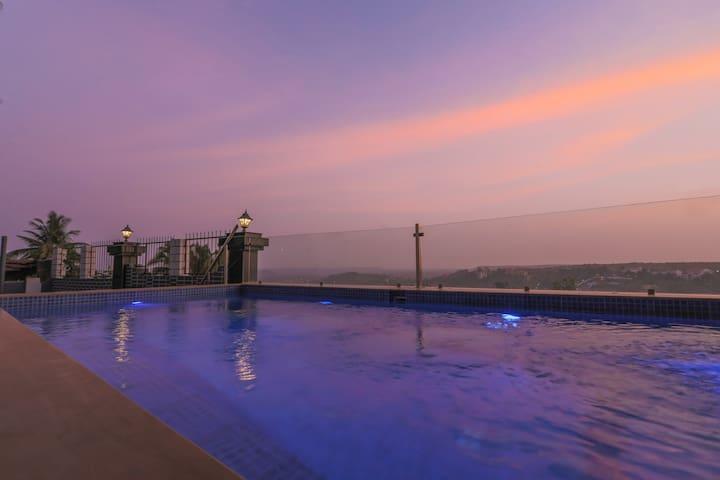 Sunset View Infinity Pool Private Villa | Caretakr