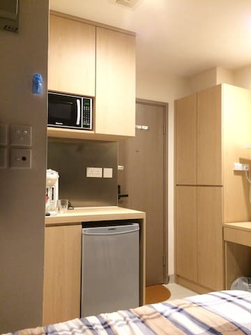 Luxurious double room 旺角區豪華舒適雙人大床房 - Hong Kong - Apartment