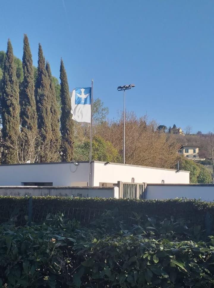the training field at Galluzzo