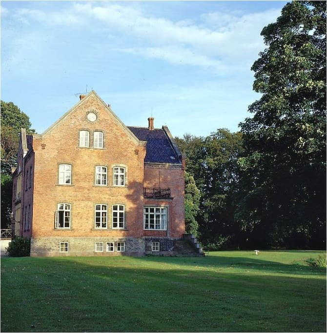 Another view of the house from the park