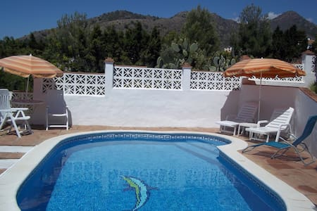 2 bedroomed villa with private pool in Maro, Nerja