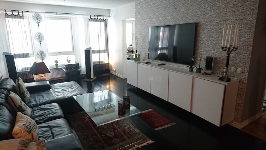 4 room apt  in the city of Malmö with two toilets