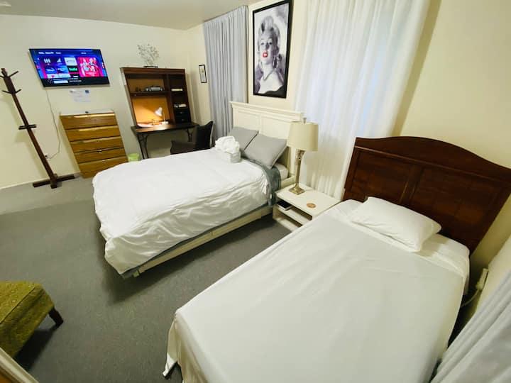 Cozy apartment 10.3 miles to New York City -