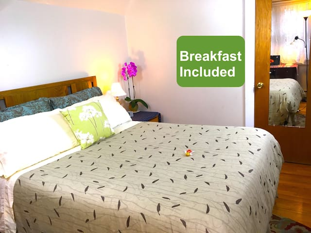 Campus Side B&B★Plushy Bed★Walk to Clarkson U★SUNY