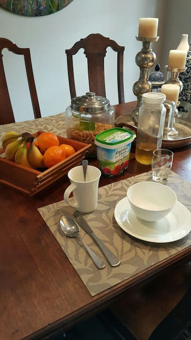 Daily Breakfast inluded with booking.