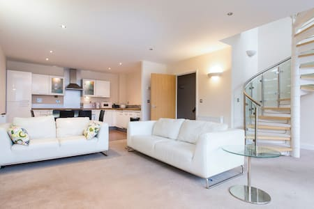 Private room in luxury duplex penthouse - London