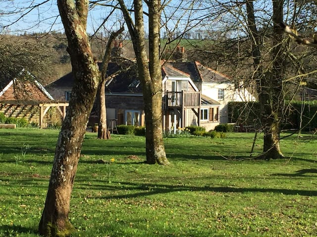 Entire house in magical setting near Totnes - Devon - Casa
