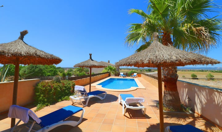 Alcoraia, wifi free, private pool