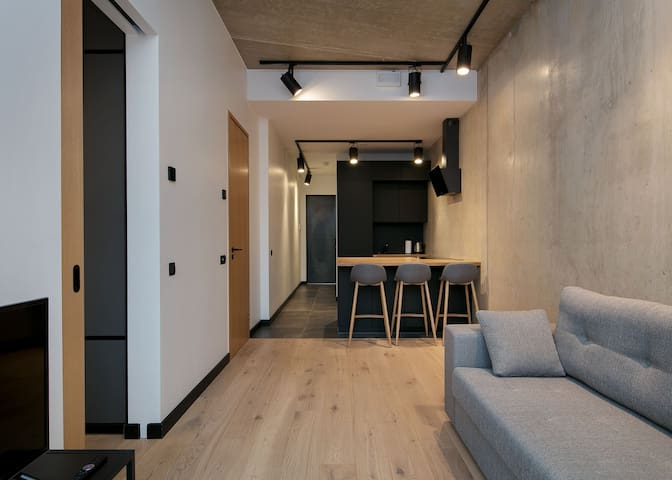 New and modern flat in the center of Tallinn