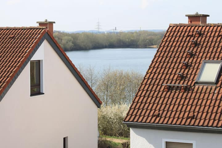 Roof Studio on the lake up to persons and AC
