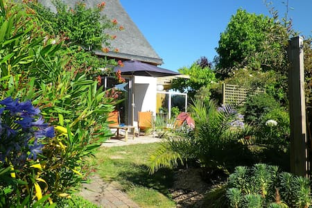 Maison plain-pied, jardin, 2 vélos - Saint-Briac-sur-Mer - Huis