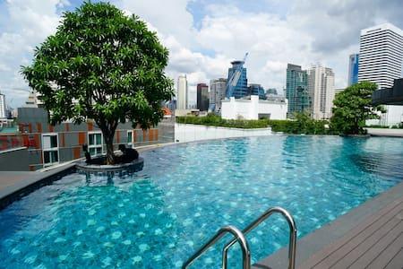 15 Sukhumvit Residences,1 BR, BTS Nana and Asoke - Bangkok