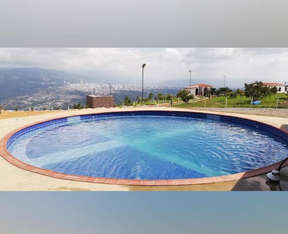 Alquiler de parcela con vista a Bucaramanga
