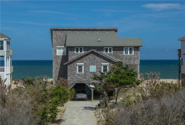 OCEANFRONT in Avon w/HotTub, PetFriendly