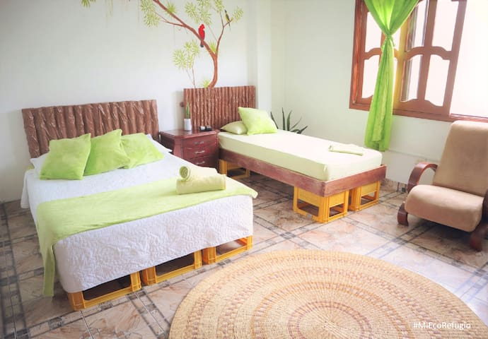 Superior Room in a Ecological Environment