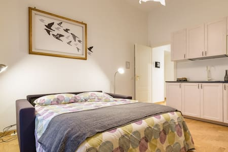Lovely small apartment 100m from Colosseum - Roma - Apartment