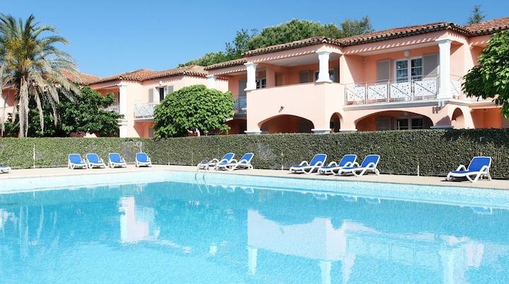 Bel Appartement à 3km du Port de Grimaud | Accès piscines !