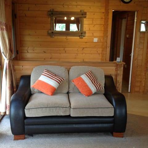 Second sofa in lounge