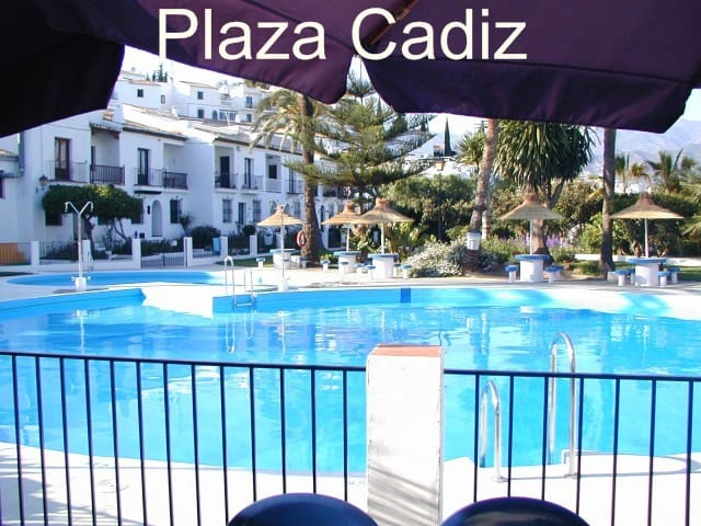 Plaza Cadiz roof terrace with views of the sea - Nerja - Villa