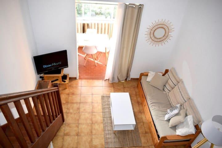 Sanary sur Mer, appartement 2 à 4 personnes