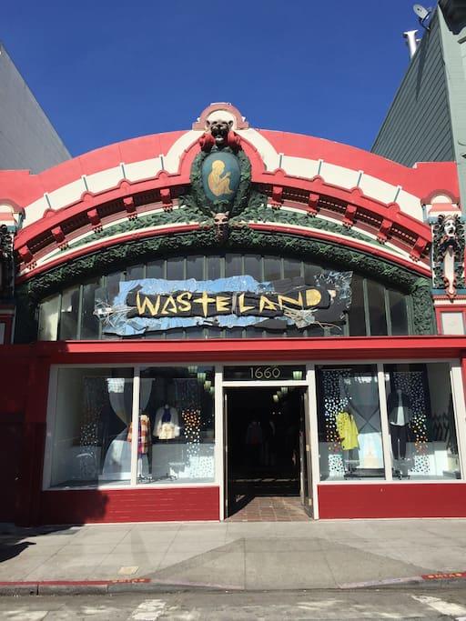 Photo of Wasteland in Haight-Ashbury
