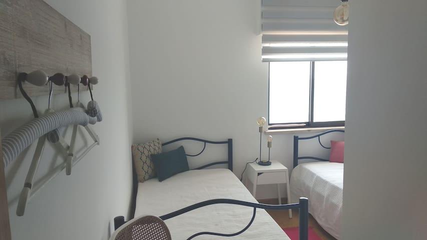 Quartos 2 camas individuais
