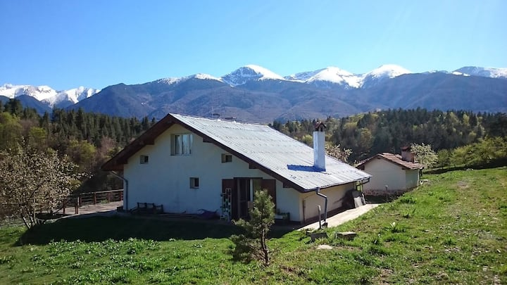 Charming BlueValley Chalet near Bansko for 7