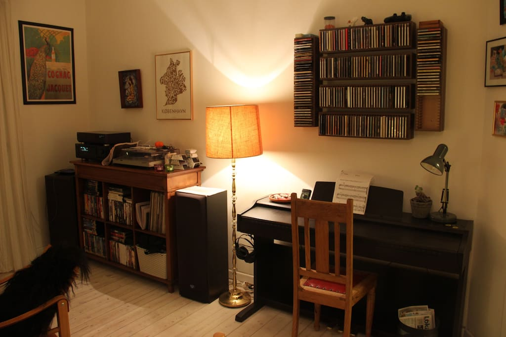 Living-room piano