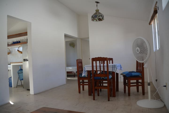 Carrizal House: practical and in the center town
