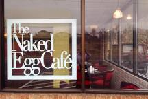 ...but if you don't want to cook the Naked Egg is a 3-4 minute walk out the back door for breakfast or lunch!