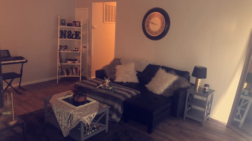 Clean & comfy Indy apt 5 mins from broad ripple