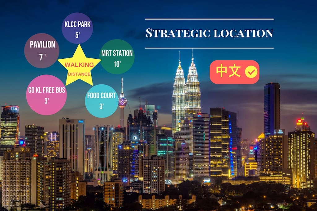 Perfect Location in KLCC
