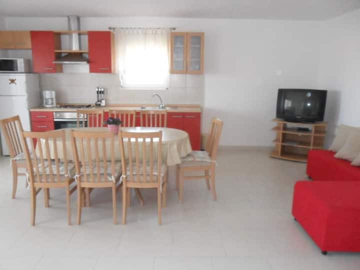 Three bedroom apartment with terrace Ljubač, Zadar (A-6141-c)