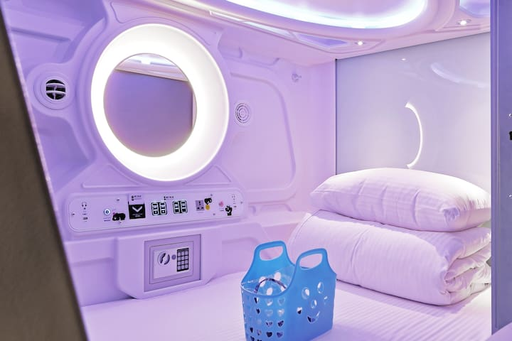 Capsule Mixed Dormitory (10 beds)