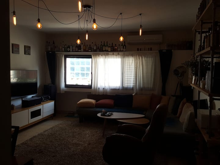 Perfect suite. Minutes walking from Hayarkon park
