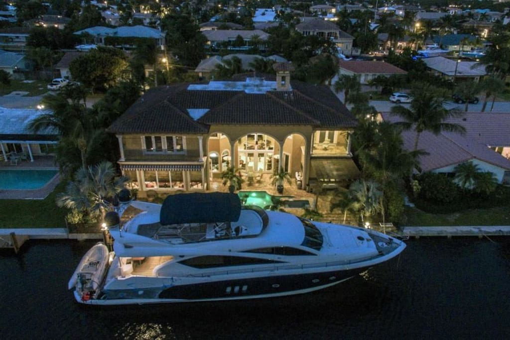 Charter options available upon request! Cruise with your family on a 75-foot, four bedroom yacht to the Bahamas, Miami, the Florida Keys, and more.