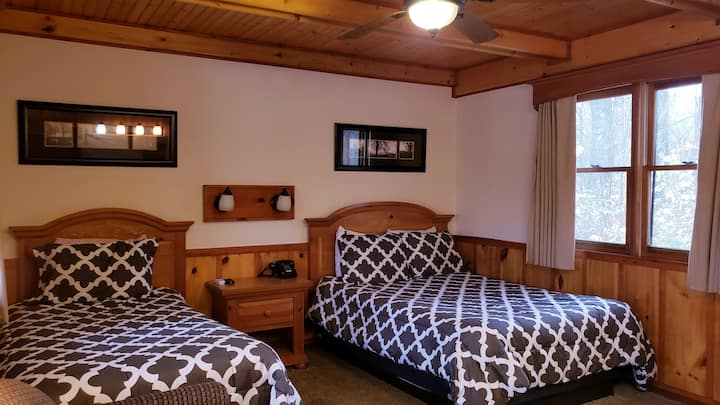 Escape to Downtown Cashiers in our Standard Room