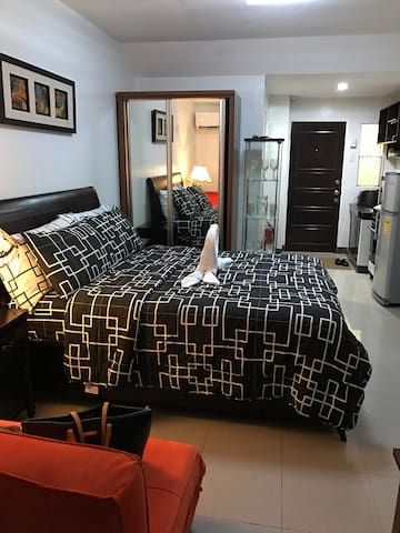 1 Studio Unit with wifi & cable tv