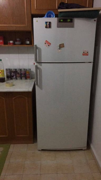 this is our pretty refrigerator