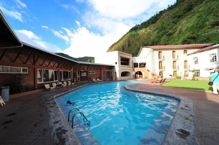 Sangay Spa Hotel- habitación matrimonial o twin
